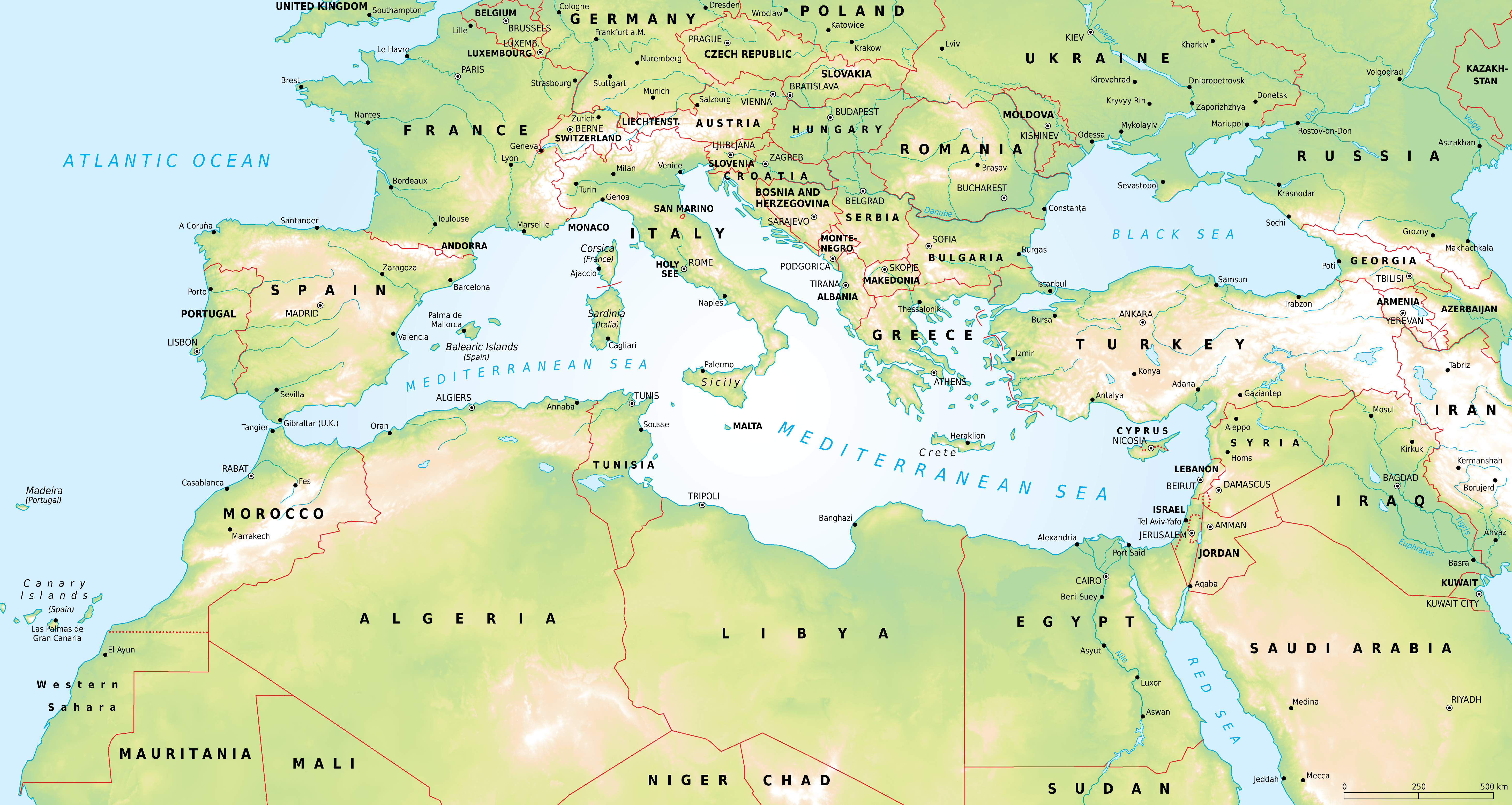 ... map ancient mesopotamia mediterranean sea map outline africa map with